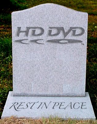 Astroprint: The Demise of HD DVD