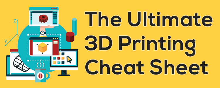The Ultimate 3D Printing Cheat Sheet - AstroPrint