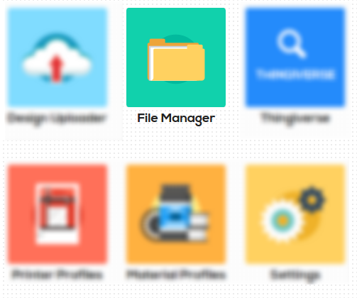 Astroprint File Manager