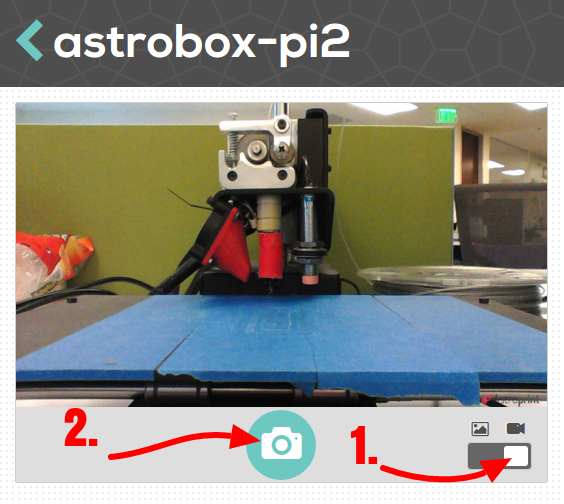 live video streaming on astroprint