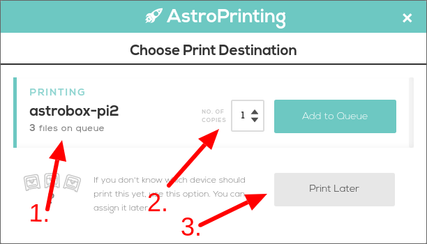 Print Queuing
