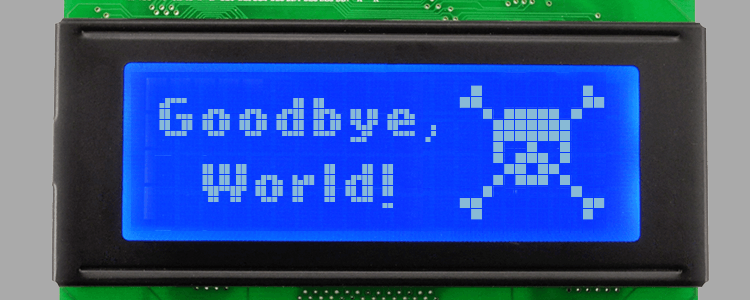 Goodbye to monochrome lcd screens