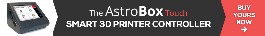 How to upload GCODE (and X3G) files on AstroPrint — Even if
